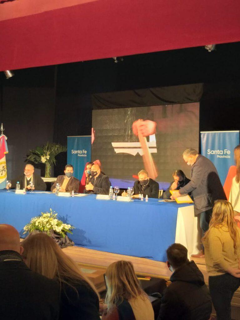 El Senador Felipe Michlig participó de la licitación para la repavimentación de la Ruta Pcial. 13- Tramo Ataliva-Virginia.